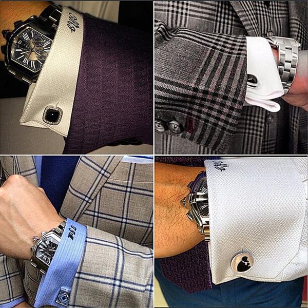 细节决定成败 男士西装袖口的三层搭配